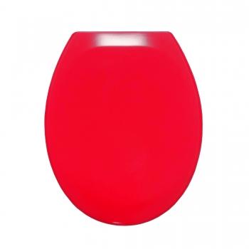 dusch wc kaufen taharet wc sitz in rot mit absenkautomatik und quick release funktion. Black Bedroom Furniture Sets. Home Design Ideas