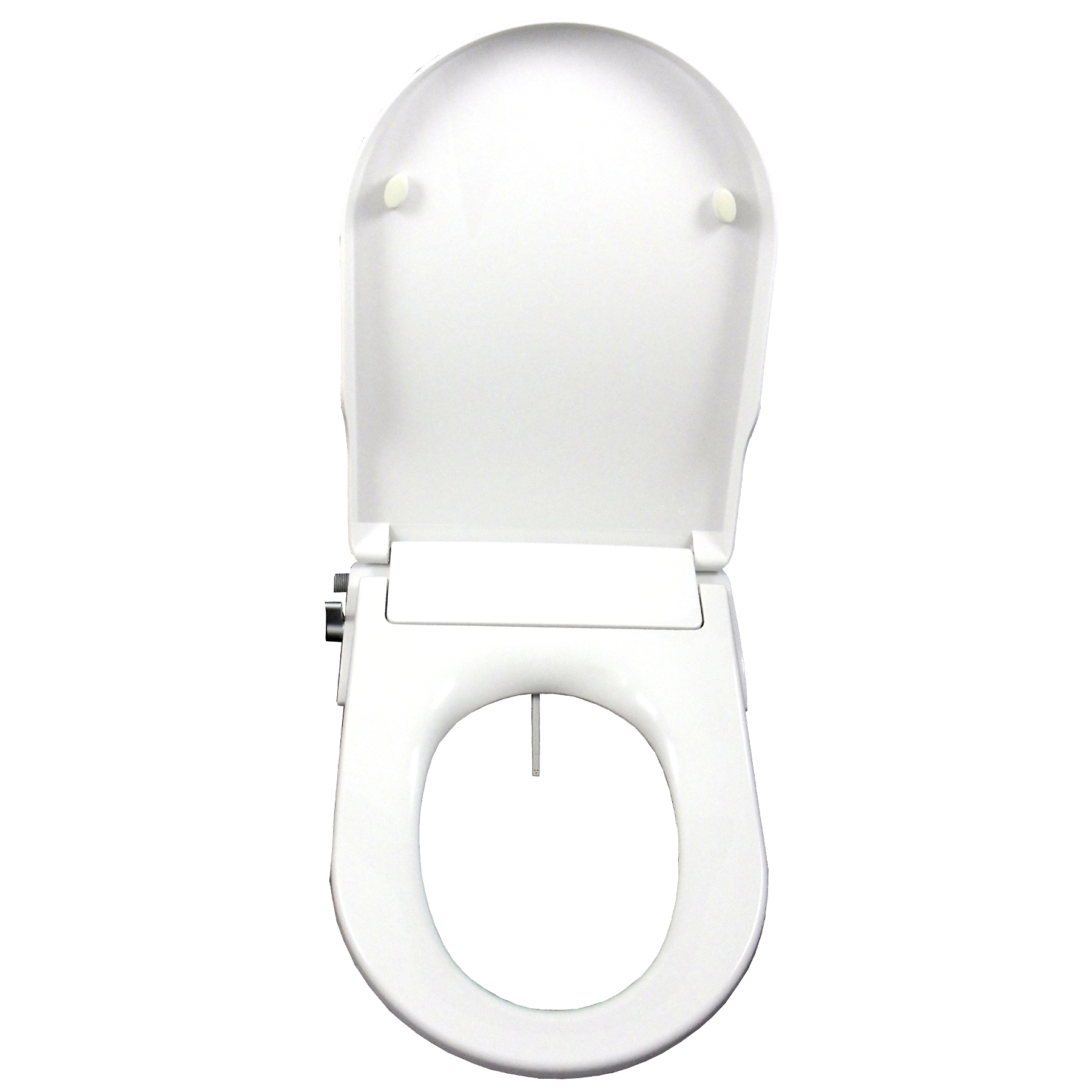 Non Electric Mechanical Bidet Toilet Seat With Integrated Bidet